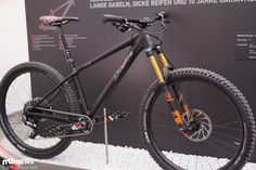 This is the new Liteville H-3. Pretty looking hardtail.