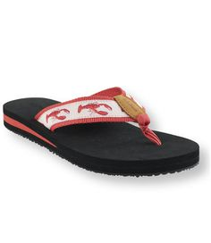 Stephanie and I just bought these lobster print flip flops at LL Bean on Friday! Lobster Fest, Lobster Bake, Laid Back Style, My Style, Hes Her Lobster, Maine New England, Magic Shoes, Crab Shack, Walk This Way