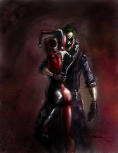 Harley Quinn with The Joker