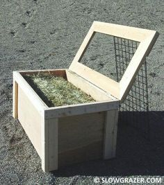 "Image detail for -The SLOW GRAZER hay feeder is a ""slow feeder"" designed to offer . Horse Shelter, Horse Stables, Horse Barns, Horse Paddock, Riding Stables, Horse Slow Feeder, Hay Feeder For Horses, Horse Hay, Horse Tips"