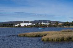 Elwick Bay on the Derwent River
