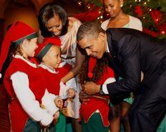 "The Obamas Celebrate ""Christmas In Washington"" 2012"