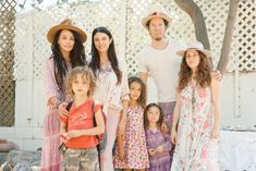 Inspiring Snaps From L.A.'s Coolest New Artisan Fair #refinery29 http://www.refinery29.com/2014/11/77361/mercado-sagrado-fair-2014#slide12 Lilakoi Moon (formerly known as Lisa Bonet) with Shiva Rose, and Zen and Bunni of the L.A.-based chocolate company dubbed ZenBunni Chocolate (naturally!).