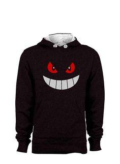 cool Pokemon Gengar Smile  Sweatshirt Hoodie Sweatshirt