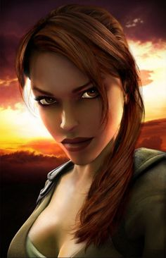 Tomb raider legend. Lara is so beautiful <3