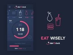 Eat Wisely  Follow us on Twitter or Dribbble to stay in touch!