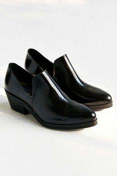 Leather Meds Heeled Loafer 011ab3761ce