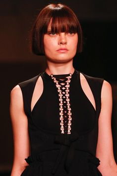 Carol McBride / Round Midsummer 1 inspired by Givenchy SS 2015  http://fqoto.com/fqoto-ss-2015-053-carol-mcbride--round-midsummer-1.html