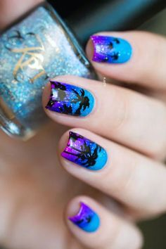 Wonderful Tropical Nail Designs To Copy This Summer Herz-Nagel-Designs Neon Nail Art, Neon Nails, Cute Nail Art, Cute Nails, Pretty Nails, Tropical Nail Designs, Cute Nail Designs, Uñas Color Neon, Hair And Nails