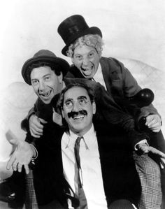 Groucho, Chico and Harpo