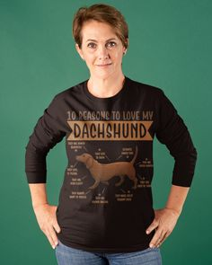 10 Reasons To Love Dachshund Best Dog - Dark Chocolate puppy drawings, funny dachshund quotes, cute funny puppy #dachshundlove #dachshundsofinstagram #dachshundoftheday, dried orange slices, yule decorations, scandinavian christmas Dachshund Quotes, Dachshund Shirt, Funny Dachshund, Dachshund Love, Dachshund Drawing, Dachshund Gifts, Puppy Drawings, Dachshund Tattoo, Dapple Dachshund Puppy