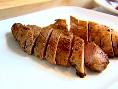 Herb-Marinated Pork Tenderloins from FoodNetwork.com