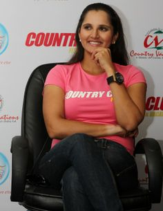 Sania Mirza during a Programme in Chennai