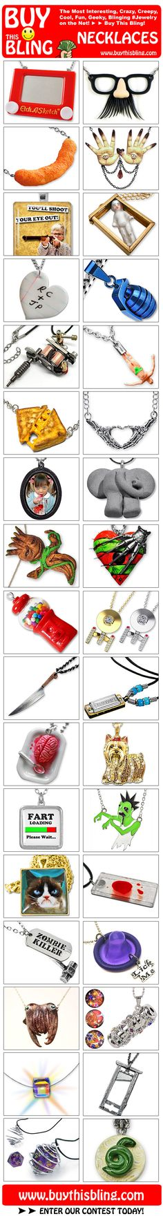 The Coolest Necklaces on the Web!