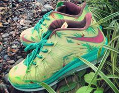 """7145abad195e Nike Air Max LeBron X Low """"LeBronold Palmer"""" Custom www.cheapshoeshub nike  run"""