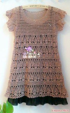 Irish crochet &: TUNIC = ТУНИКА