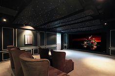 Home Theatre Idea with Stars
