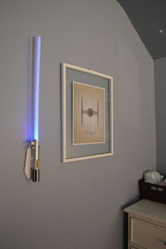Light Saber Sword Star Wars Wall Lamps for Kids Room Decoration Ideas - Unique and Modern Wall Lamps For Kids