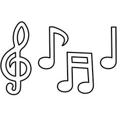 free printable music notes coloring pages - how to draw music notes step by step notes musical