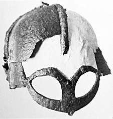helm with mask