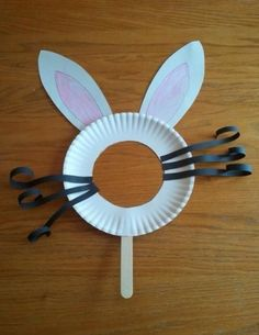 Mrs FDK Doyle - Easter bunny kindergarten craft