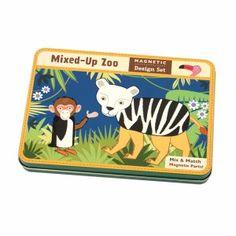 Mudpuppy Puzzle Magnetyczne Konstrukcje Zwierzęta w Zoo cena: 74zł