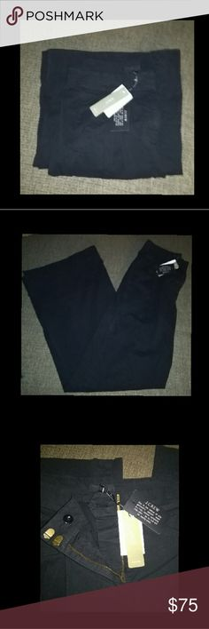 J.Crew ultra wide leg Chino pants Ultra wide Chino Style F8307 pants by J. Crew. NWT These retail 4 $118 pretty hard to find most places are sold out.  PRICE IS FIRM..NOT NEGOTIABLE..IF U OFFER I WILL NOT REPLY UNLESS ITS 4 AMNT LISTED. THANX. J. Crew Jeans Flare & Wide Leg