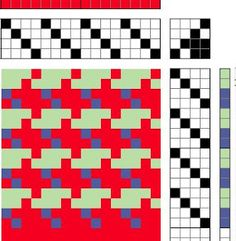 Not 2 Square Weavers: More Drafts from Not 2 Square Weavers