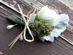 With a degree in plant medicine and a relationship with cannabis, Rachael Carlevale is incorporating weed into her wedding decorations, attire and even giving guests the opportunity to partake.