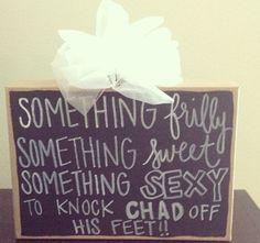Bachelorette  party idea
