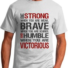 Inspirational Quotes   Be Strong   clingspiration