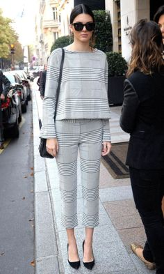 matching separates on kendall jenner