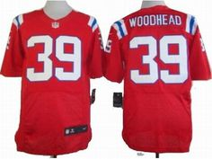 Top Womens New England Patriots 39 Woodhead White Nike Jerseys  for cheap