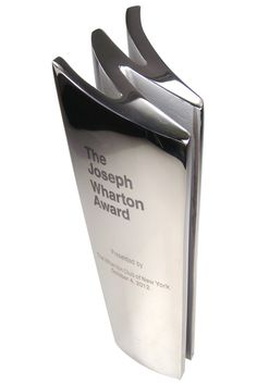 stainless steel cast W shaped custom education award