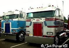 Peterbilt Cabover Truck