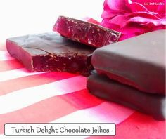 Turkish Delight Chocolate Jellies - Low Carb Lovelies