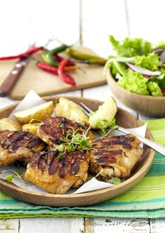 Spicy Peri-Peri #Braai Chicken!  #SouthAfrican #BBQ #barbecue