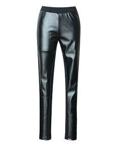 Black PU leather Main