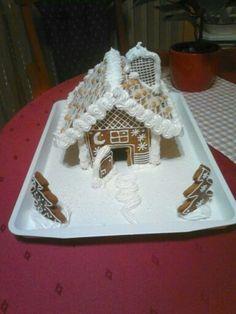 karácsonyi mézeskalács házikó ☺