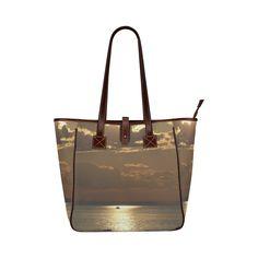 Awesome Sea Scene Classic Tote Bag (Model 1644)
