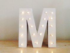 fabriquer une lettre lumineuse 5