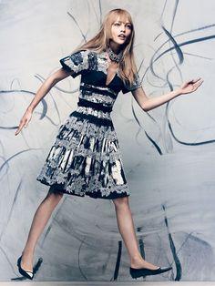 Sasha Pivovarova & Xiao Wen Ju by Craig McDean (Splice Of Life - US Vogue November 2013) 5: