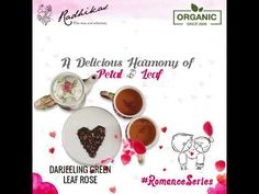 Plucked during the early spring from Darjeeling, every whole green leaf and rose fleck are blended to give you a soothing tingle when your palate mingles with an enriched taste.   Visit: http://www.radhikasfineteas.com/  #DarjeelingGreenLeafRose #RadhikasFineteas #RomanceSeries Video Link: https://youtu.be/R1KbipdsPrA