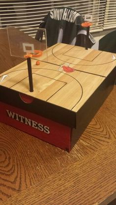 1000 images about funny and cool valentine 39 s day boxes on for Homemade basketball court