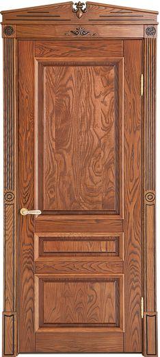 Вариация буковой модели. Поверхность двери сохранила обклад и приобрела фактурный внешний вид материала, подчеркнутый контрастной патиной.