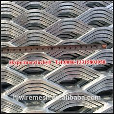 Hot Dipped Galvanized Expanded Metal Sheet