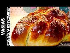 Πασχαλινα Τσουρεκια Χωρις Μιξερ – Σπιτικα Τσουρεκια Tangzhong - Αφρατα Τσουρεκια Συνταγη - Tsoureki - YouTube Holiday Bread, Crazy Kitchen, Brioche Bread, Evaporated Milk, Easter Holidays, Dry Yeast, Sweet Bread, Bread Baking, Baked Potato