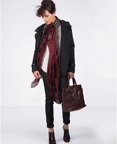 Parka bi-matière | Blousons et manteaux | Comptoir des Cotonniers