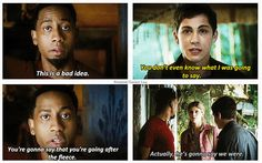 Percy Jackson: Sea of Monsters. Except i despise the movies
