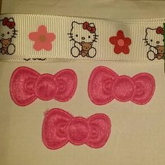 Check out this item in my Etsy shop https://www.etsy.com/listing/288769795/hello-kitty-friends-inspired-theme-hair